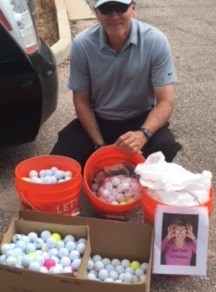Golf Balls 4 Troops! Paul Surniak
